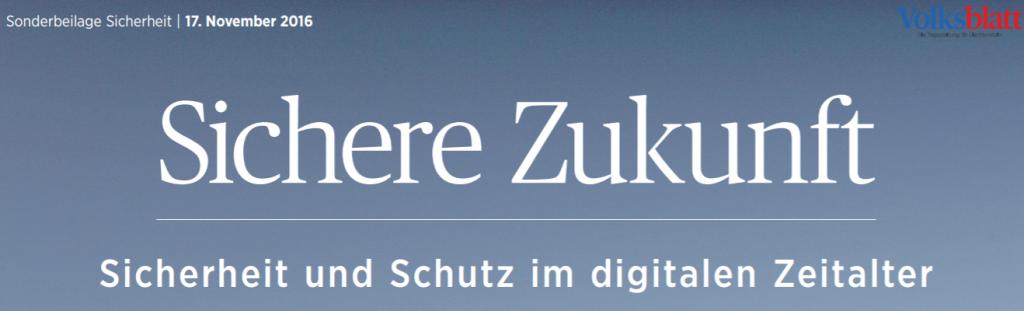 Bericht im Volksblatt