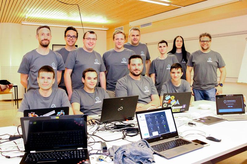 Málaga wir kommen – European Cybersecurity Challenge 2017